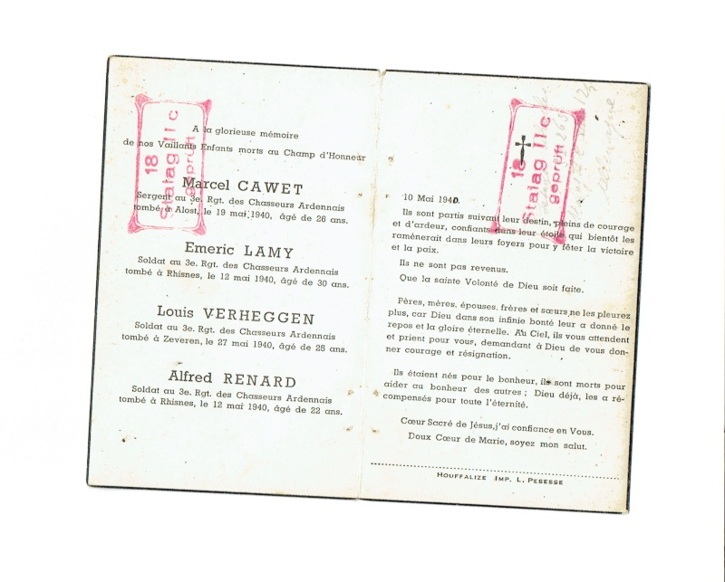 Gros lot de documents et photos Chasseurs Ardennais, de l'us et des livres. Chasse17