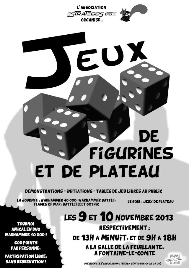 Manifestation Stratégos 86 les 9 et 10 novembre Affich11