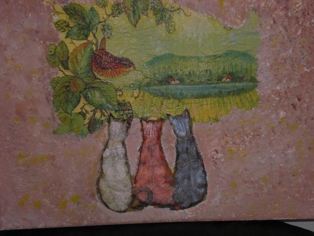 serviette et peinture Cimg2413