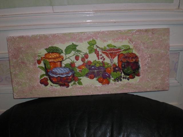 serviette et peinture Cimg2414
