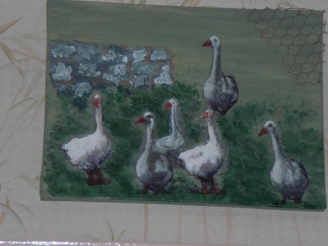 serviette et peinture Photo_27
