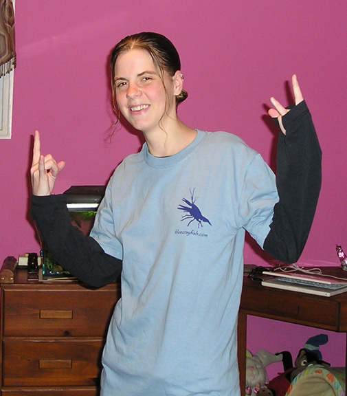 bluecrayfish.com Shirt110