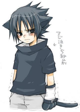**GATOS DEL ANIME** Sasuke10