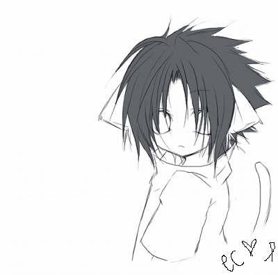 **GATOS DEL ANIME** Sasuke11