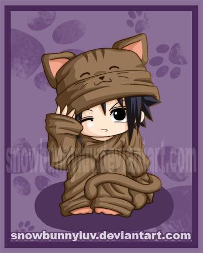 **GATOS DEL ANIME** Sasuke12