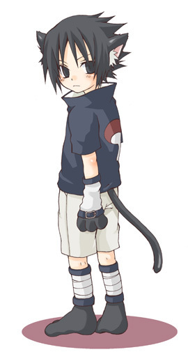 **GATOS DEL ANIME** Sasuke15
