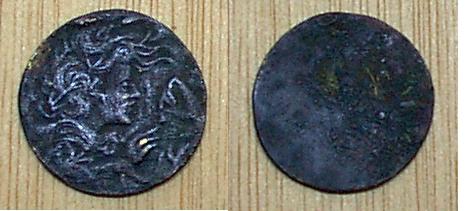 medalla sin identificar Descon15