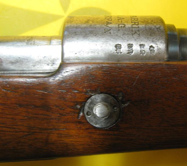 Marquages Mauser 98 G98-4p10