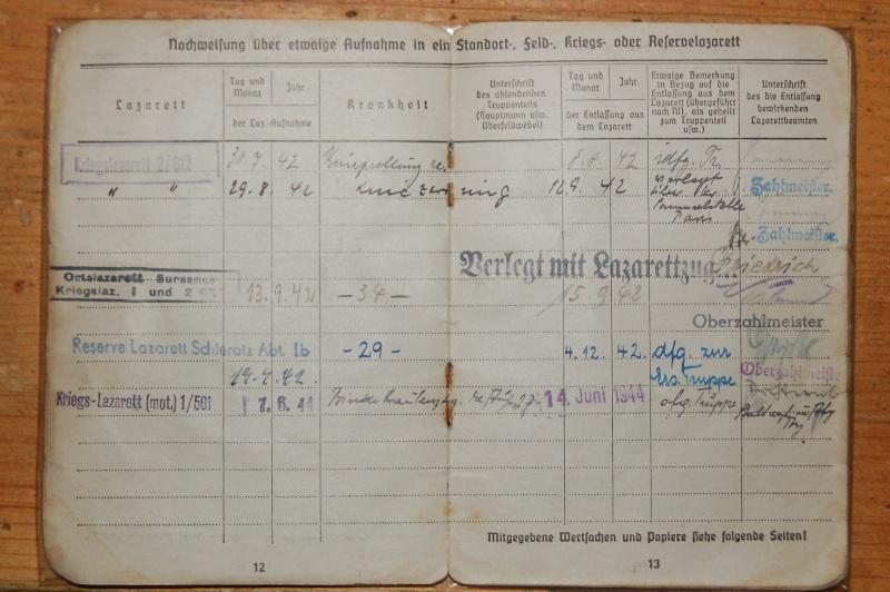 Vos livrets militaires allemands WWII (Soldbuch, Wehrpass..) / Heer-LW-KM-SS... Dsc_0410