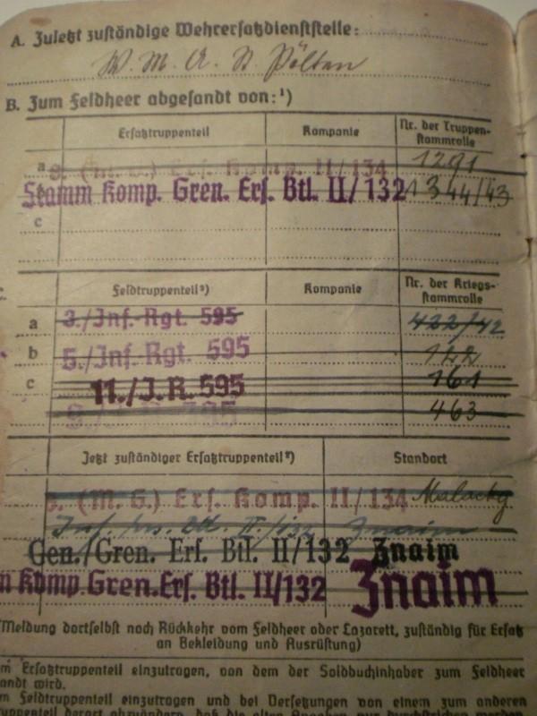 Vos livrets militaires allemands WWII (Soldbuch, Wehrpass..) / Heer-LW-KM-SS... P4170912