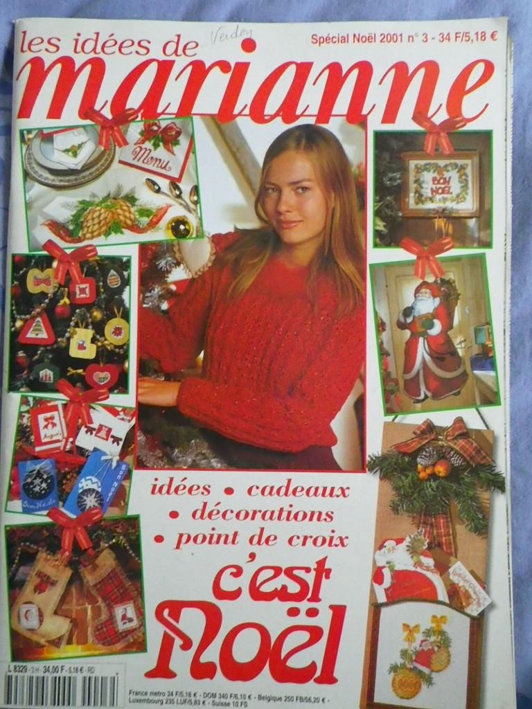 ancien magazine les idées de Marianne  Spacia10