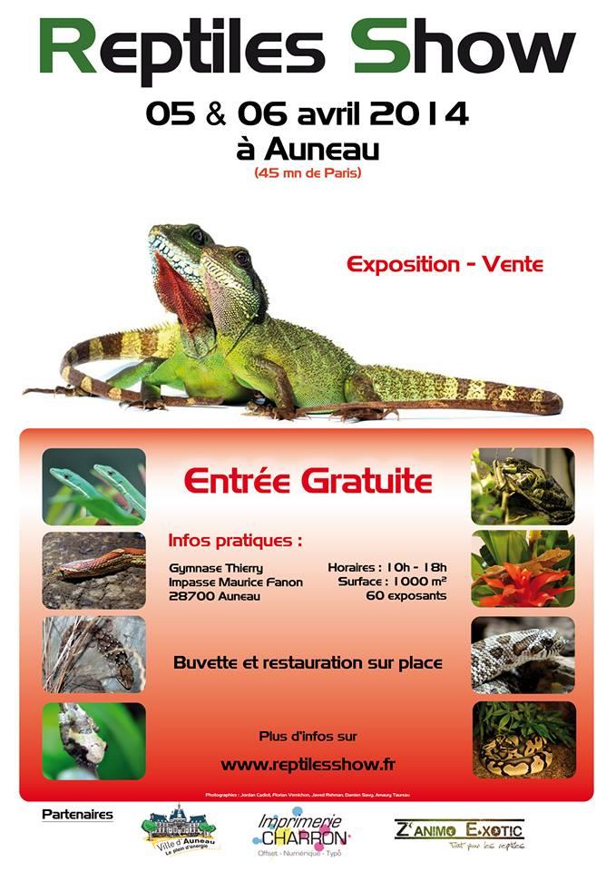 Reptiles Show - 5 & 6 Avril 2014 (Auneau, 28700) Reptil10