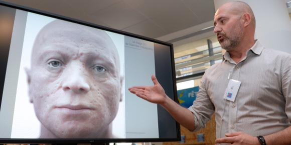 Le visage de Robespierre en 3D 83910810