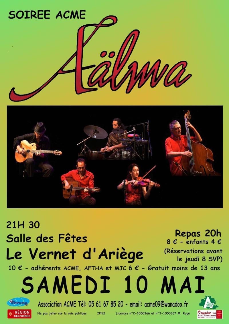 Concert au Vernet d'Ariège le 10 Mai Aalma_10
