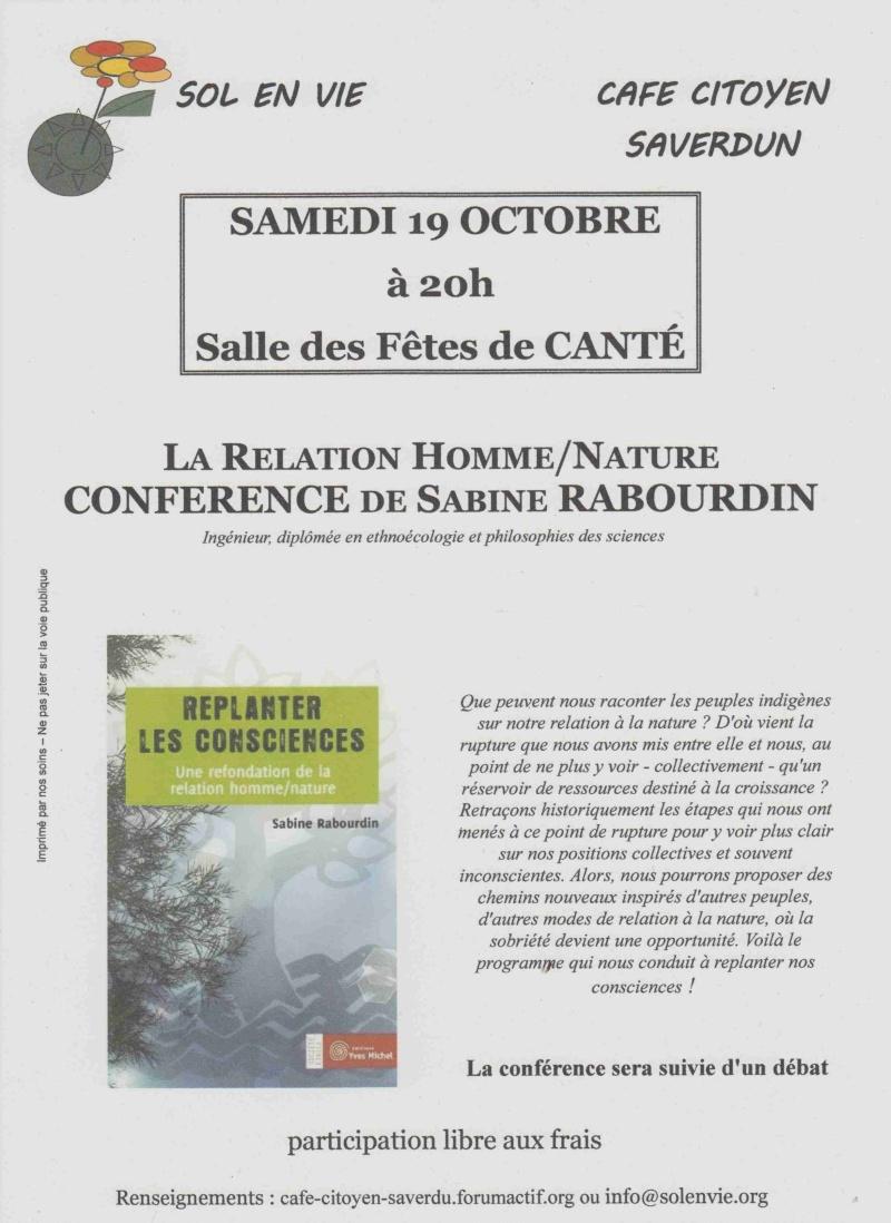 Café Citoyen de Saverdun ce 19 Octobre Affich14