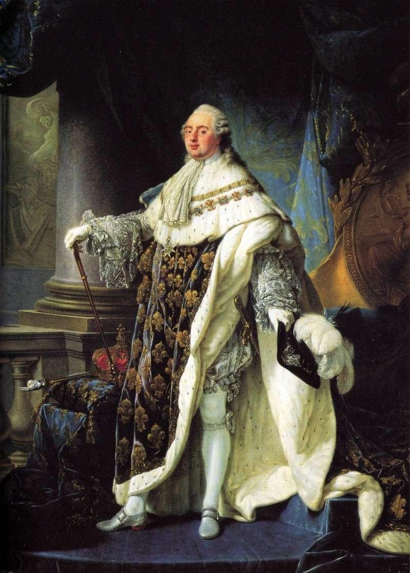 Physionomie, descriptions du portrait physique de Louis XVI Ludvig10