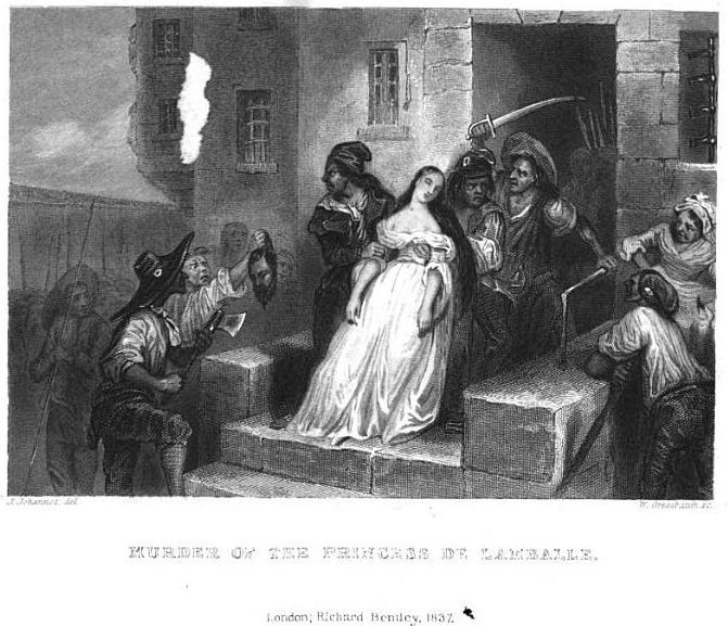 La mort de la princesse de Lamballe Murder10