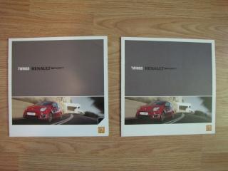 Brochures Twingo 1 et 2 au profit de l'association Img_1717