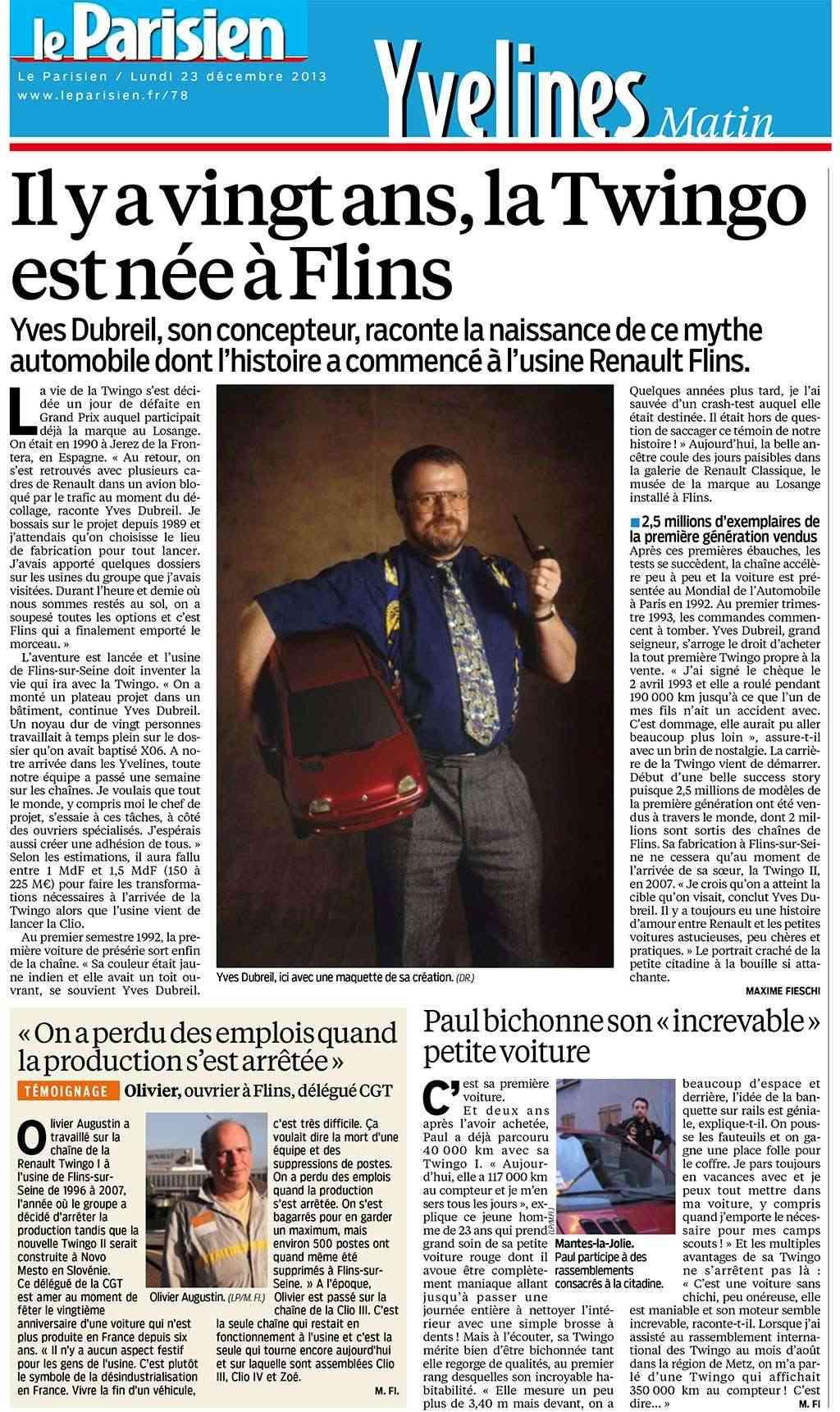 Journal Le Parisien - Page 2 Journa13