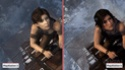 Tomb raider PS3 VS Tomb raider PS4 Captur10