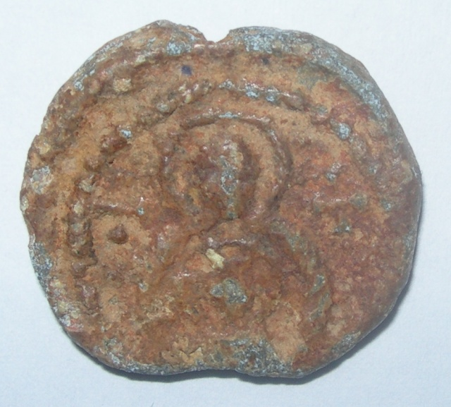 Sello plúmbeo bizantino a identificar Dscn5110