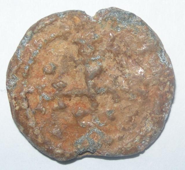 Sello plúmbeo bizantino a identificar Dscn5111