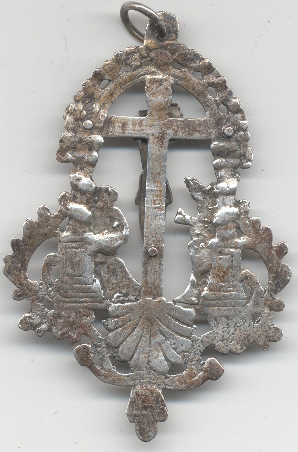 Santísimo Cristo de la Corona de Valencia- XVII (Ventana) (R.M. PFV-Corona 1) Medall11