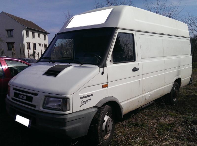 FOURGON IVECO H2 L2 Tôlé 3T500 2,5 Diesel Imag0524