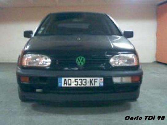 VW Golf 3 TDI 90chv Carlo_10
