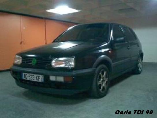 VW Golf 3 TDI 90chv Carlo_11