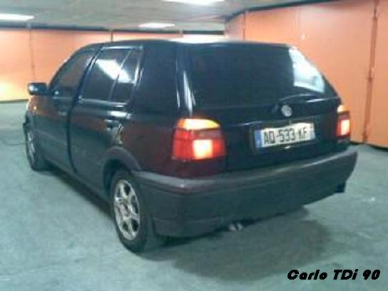 VW Golf 3 TDI 90chv Carlo_13