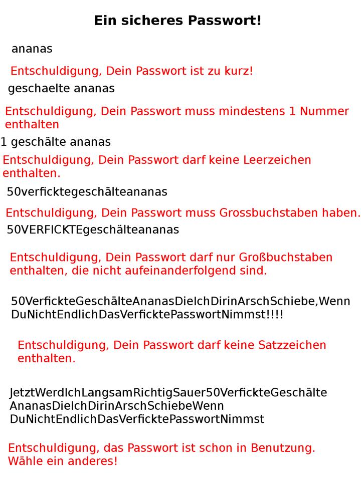 Die Qual der Passwortwahl Passwo10