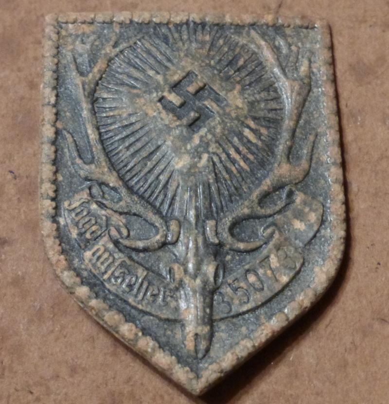 Insigne de garde chasse  P1000116