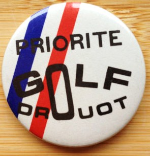 Badge Golf Drouot 1210