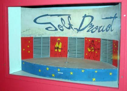 maquette miniature du golf Maquet11