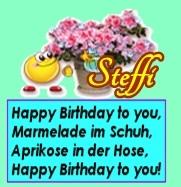 Happy birthday, liebe Steffi Forums11