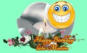 Happy Birthday Marion1 Marion10