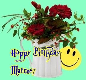 Herzlichen Glückwunsch Marco87 Marko10