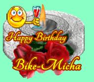 Happy Birthday Bike-Micha Micha10