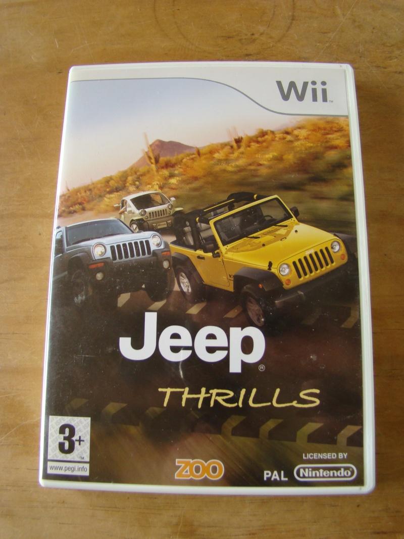 Jeu Wii Jeep Dsc05910