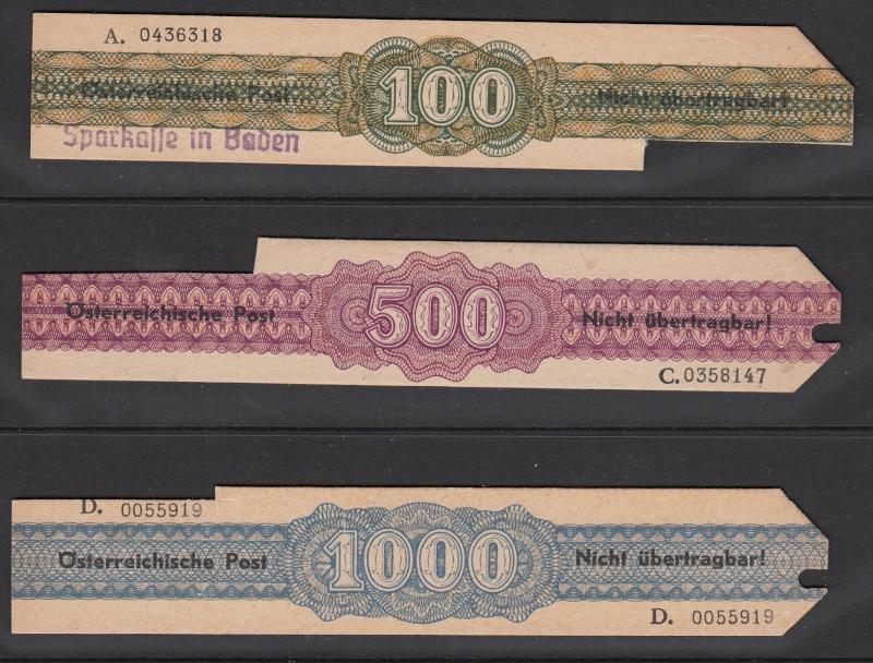 Verrechnungsmarken Österreich 1948 Img42