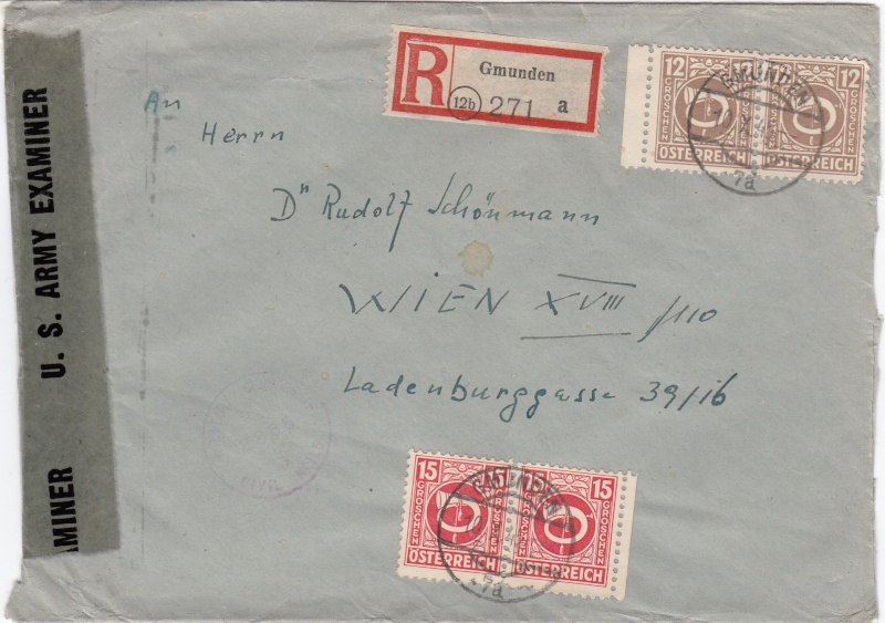 Posthornzeichnung  -  ANK 697-713  -  Belege Img_0078