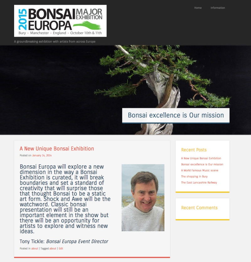 Bonsai Europa 2015 New Show in the UK for European artists Websit10
