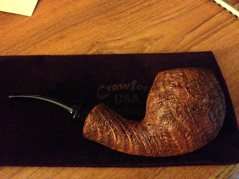 Chicago International Pipe & Tobacco Show 2014 - Page 2 Crawfo11