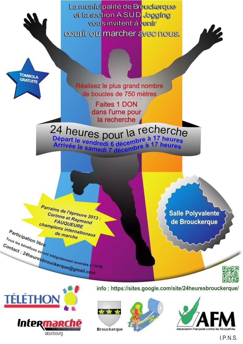 6 décembre 2014: 24h téléthon à Brouckerque (59) Affich10