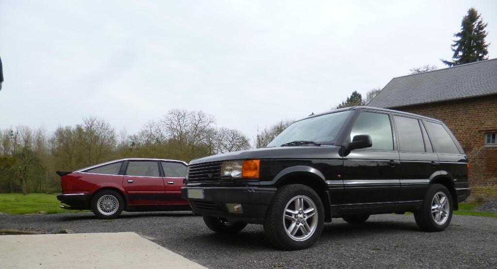 4.6 HSE 99 et Rover Vitesse 83! P1210510