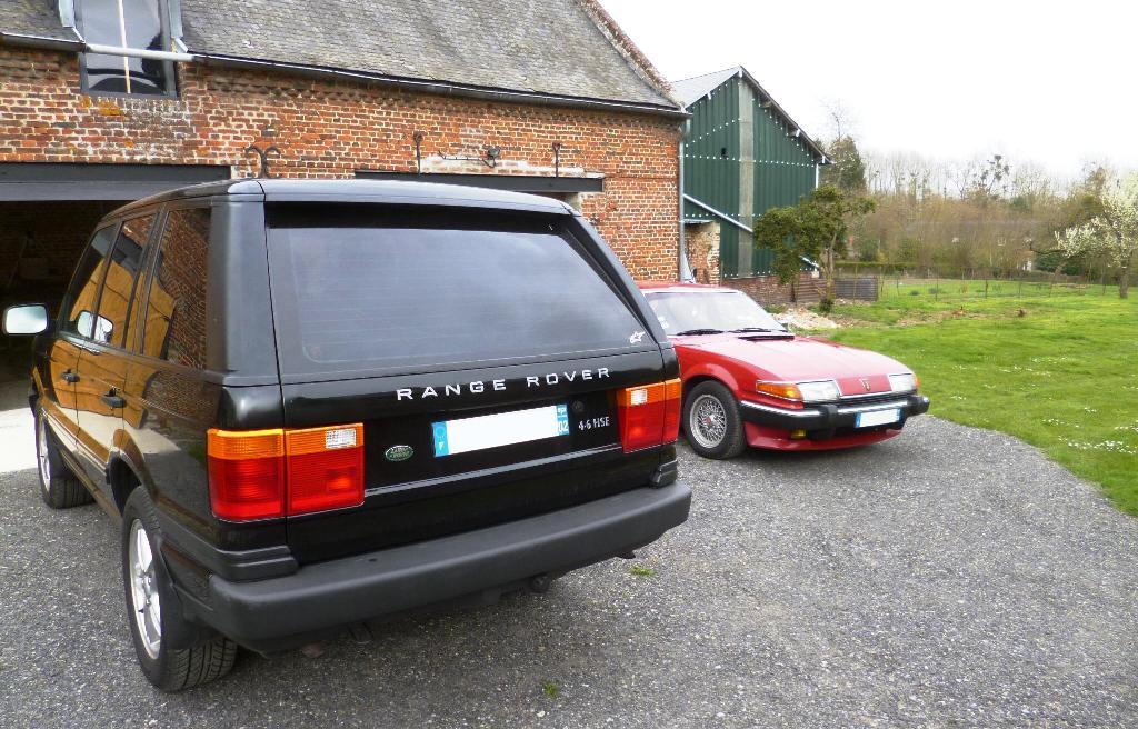 4.6 HSE 99 et Rover Vitesse 83! P1210511