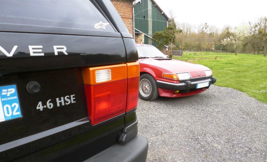 4.6 HSE 99 et Rover Vitesse 83! P1210512