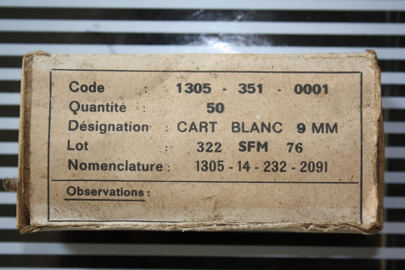 Les 9mm règlementaires armée française Img_4415