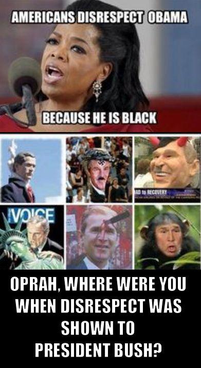 Repect for Obama Bush10